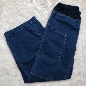 Alembika Denim Cargo Pants Size Medium